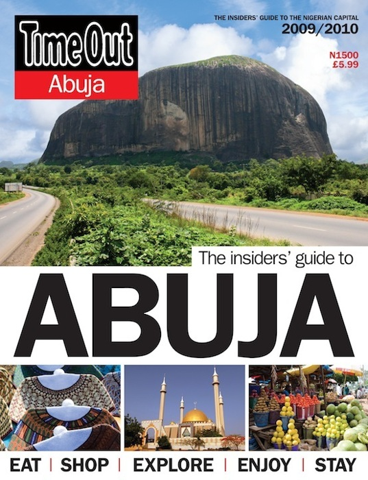 photoblog image TimeOut Abuja 2010 front cover. Tom Saater